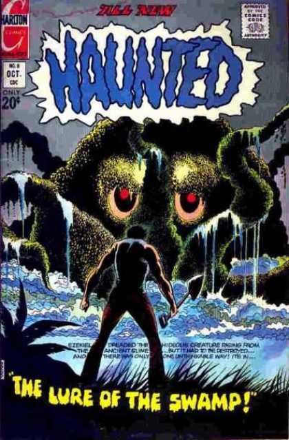 Haunted 8 - 20 Cents - The Lure Of The Swamp Thing - All New - Oct - Octopuss Monster