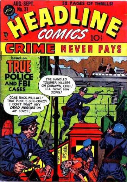 Headline Comics 31 - Do The Time - Hand Me That Chopper - Death Valley - Shot Em Low - Street Crime