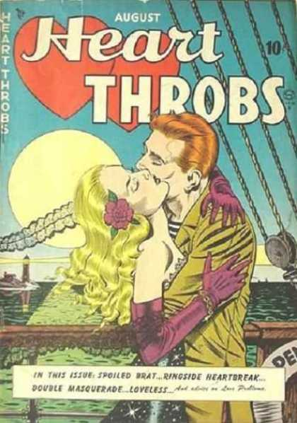 Heart Throbs 1 - August - Full Moon - Making Out - 10 Cents - Blonde