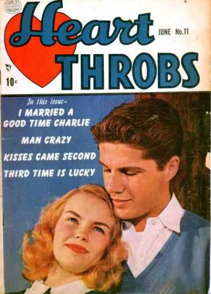 Heart Throbs 11 - Couple - Romance - Man Crazy - Love - Kisses Came Second