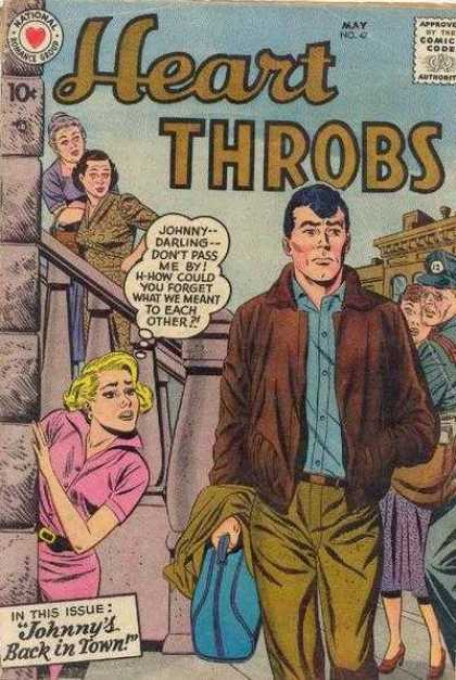 Heart Throbs 47 - Blonde - May - 10 Cents - Thought Bubble - Johnny