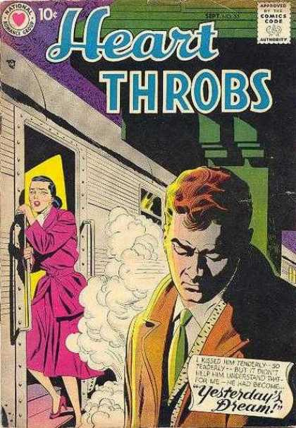 Heart Throbs 55 - Yesterday Dream - One Beautiful Woman - One Young Man - Near The Door - Night