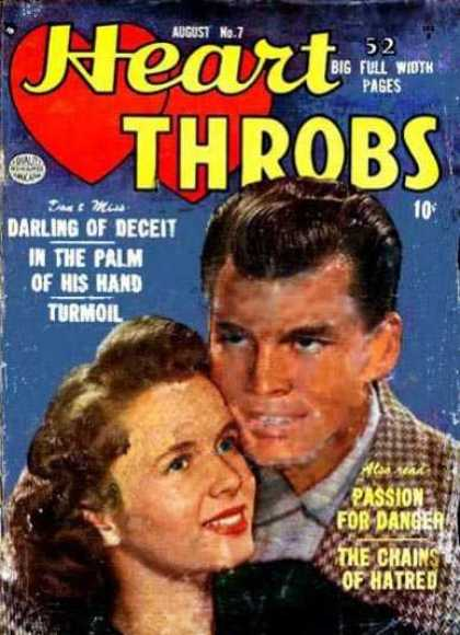 Heart Throbs 7 - Darling Of Deceit - Int He Palm Of His Hand - Turmoil - Passion For Danfer - The Chains Of Hatred