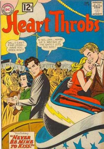 Heart Throbs 81 - Comic - Dc - Dc Comics - Never Be Mine To Kiss - 12 Cents