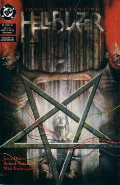 Hellblazer 12 - Dc - John Constantine - James Delano - Upside Down Pentagram - Mark Buckingham - Dave McKean