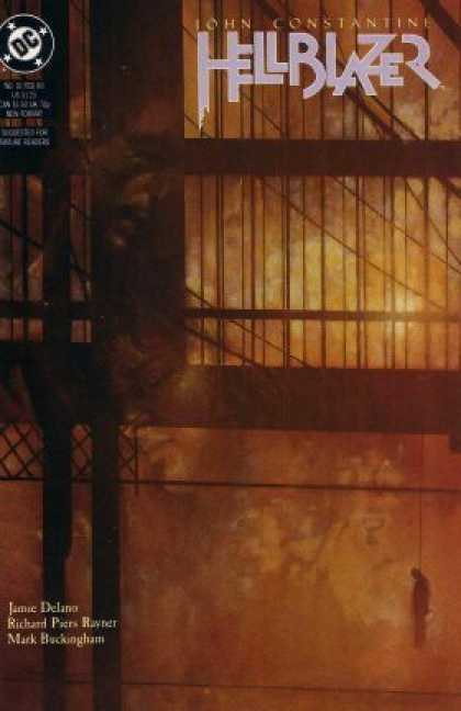 Hellblazer 16 - Bridge - Hanging - Dusty - Reflection - Dark - Dave McKean
