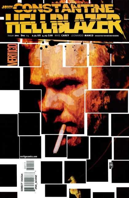 Hellblazer 201 - Cigarette - Constantine - Mike Carey - Leonardo Manco - Smoking - Tim Bradstreet