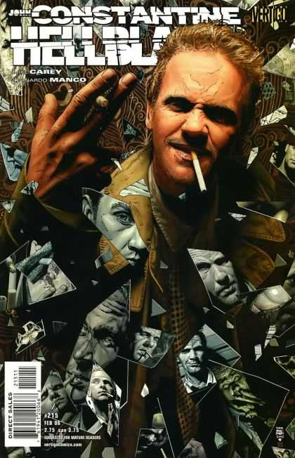 Hellblazer 215 - Smoking - Tim Bradstreet