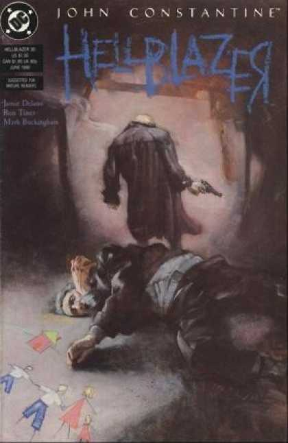 Hellblazer 30 - Kent Williams