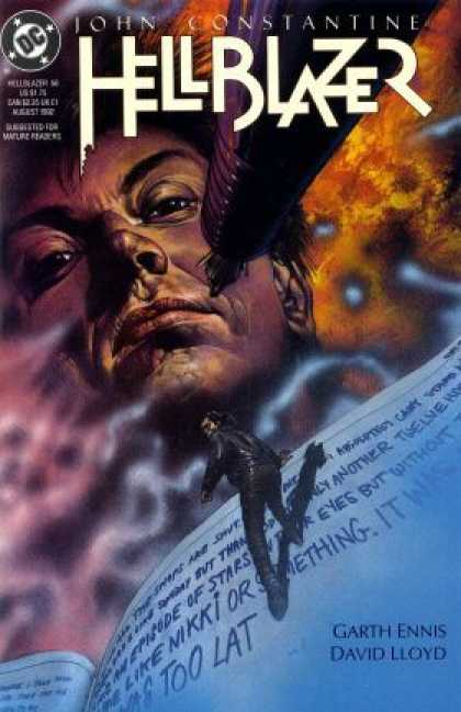 Hellblazer 56 - Dc Comics - John Constantine - Action - Religion - Garth Ennis And David Lloyd
