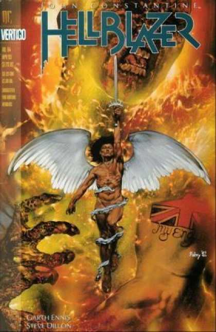 Hellblazer 64 - Sword - Wings - Dc - Vertigo - Weapon