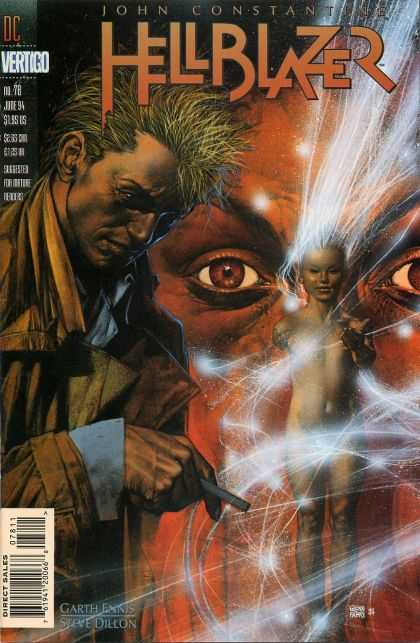 Hellblazer 78 - Eyes