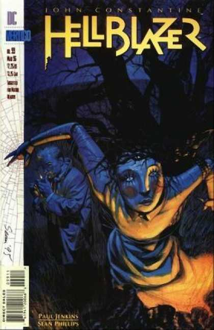 Hellblazer 99 - Sean Phillips - John Constantine - Paul Jenkins - Vertigo Comics - Spooky Tree