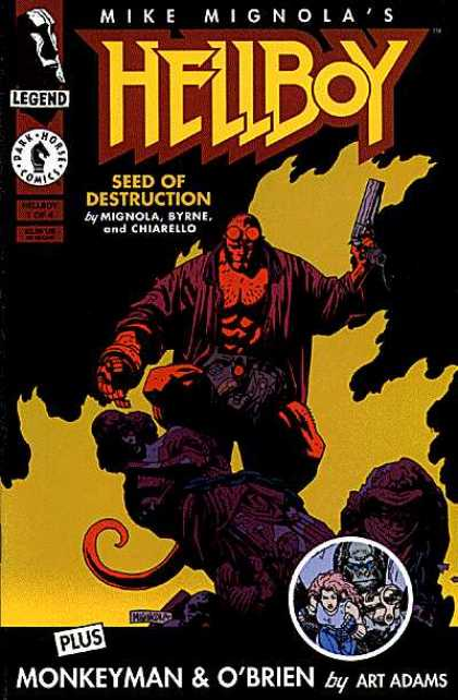Hellboy 1 - Seed Of Destruction - Monkeyman - Dark Horse - Dark Horse Comics - Obrein