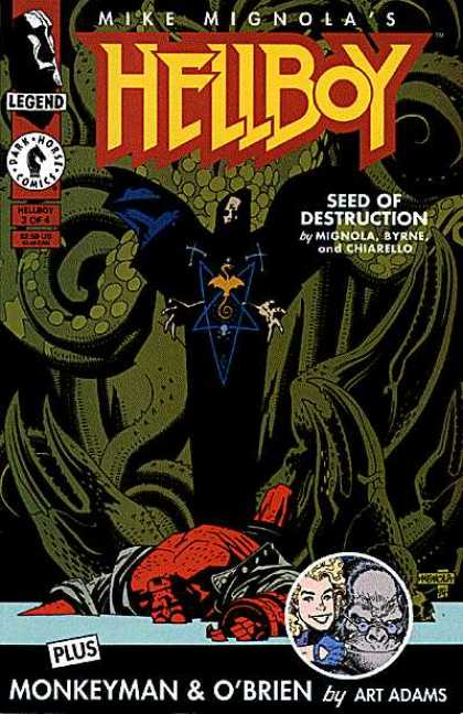 Hellboy 3 - Dark Horse - Fantasy - Demon - Death - Mike Mignola