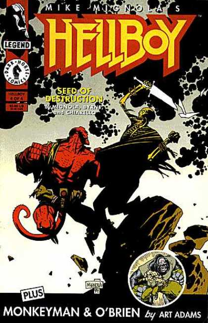 Hellboy 4 - Legend - Mike Mig Nola - Seed Of Destruction - Dark Horse - Monkey Man