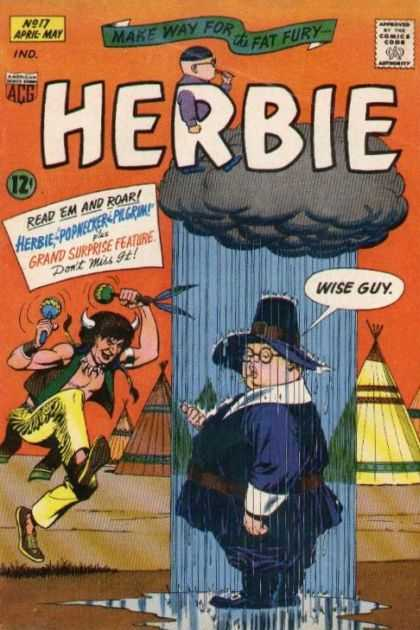 Herbie 17 - Make Way For Fat Fury - Raining - Indian Man - Wise Guy - Fat Man