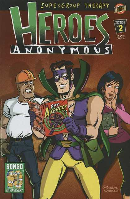 Heroes Anonymous 2 - Bill Morrison, Serban Cristescu