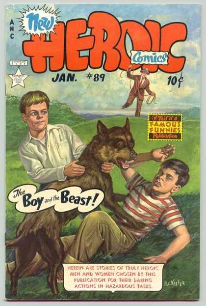 Heroic Comics 89 - New Heroic - Heroic - The Boy And The Beast - 89 - Famous Funnies