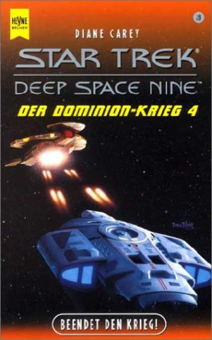 Heyne Books - Star Trek. Deep Space Nine 28. Der Dominion Krieg 4. Beendet den Krieg.