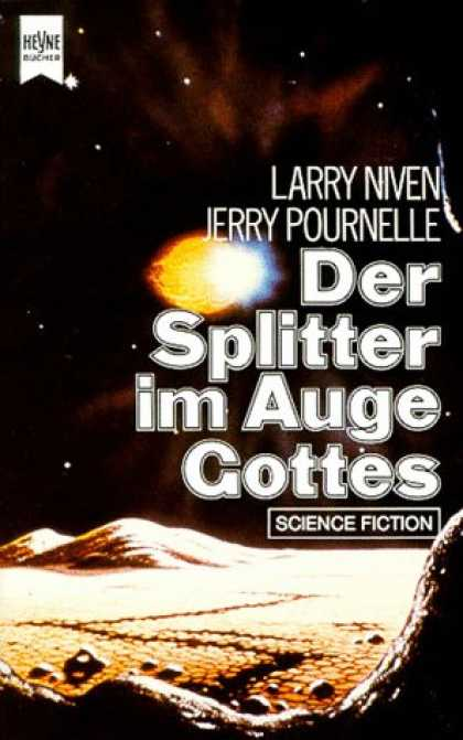 Heyne Books - DER SPLITTER IM AUGE GOTTES (The Mote in God's Eye - in German)