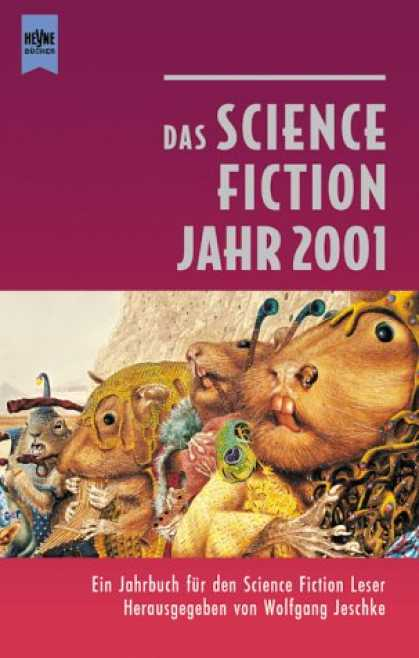 Heyne Books - Das Science Fiction Jahr 2001. ( Jahrbuch für den Science Fiction Leser, 16).