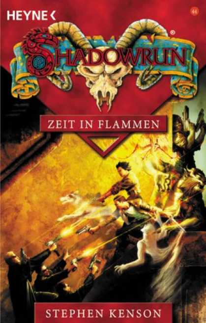 Heyne Books - Shadowrun 44. Zeit in Flammen.