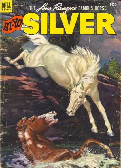 Hi-Yo Silver 6 - Dell - Lone Ranger - White Horse - Animals - 10 Cents