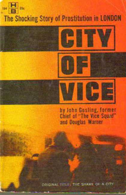 Hillman Books - City of Vice (hillman Hb184) - John and Warner, Douglas Gosling