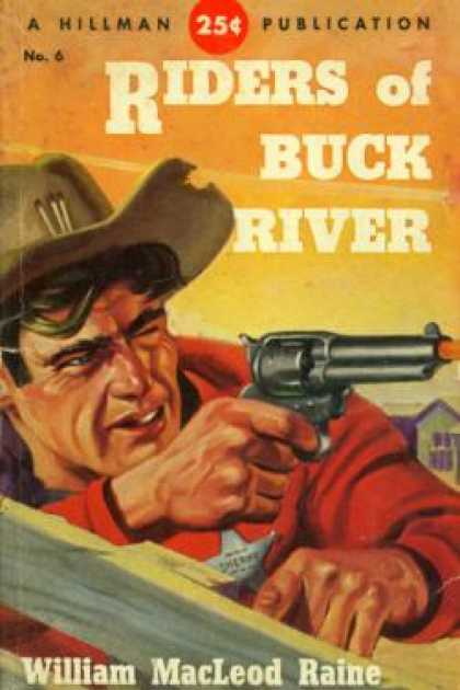 Hillman Books - Riders of Buck River - William Macleod Raine