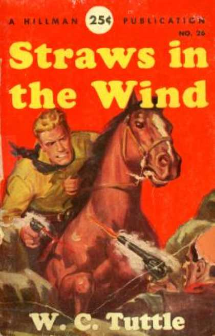 Hillman Books - Straws In the Wind - W. C. Tuttle
