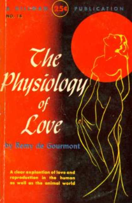 Hillman Books - The Physiology of Love - Remy de Gourmont