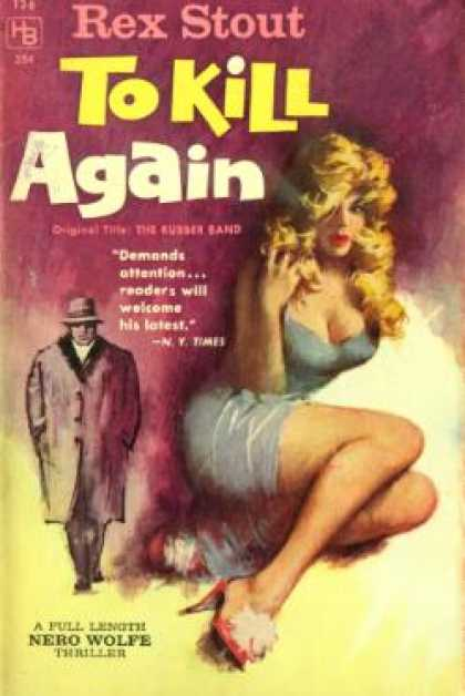 Hillman Books - To Kill Again - Rex Stout