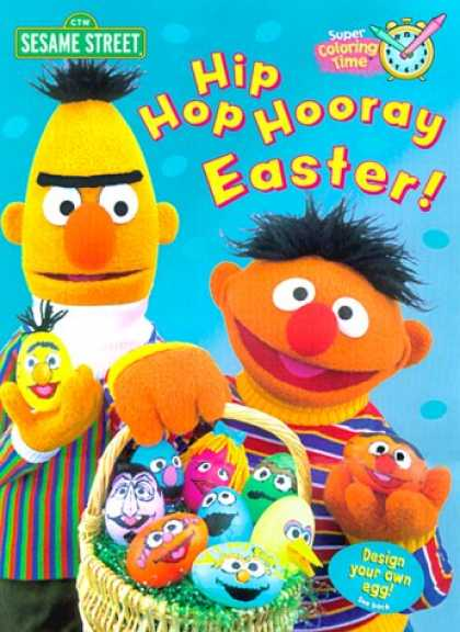 Hip Hop Books - Hip Hop Hooray Easter (Super Coloring Book)