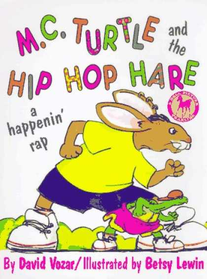 Hip Hop Books - M.C. Turtle/Hip-Hop Hare (Dell Picture Yearling)