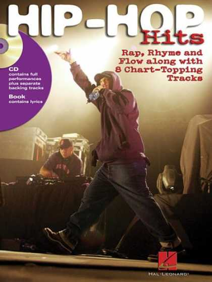 Hip Hop Books - Hip-Hop Hits: Rap, Rhyme and Flow Along with 8 Chart-Topping Tracks