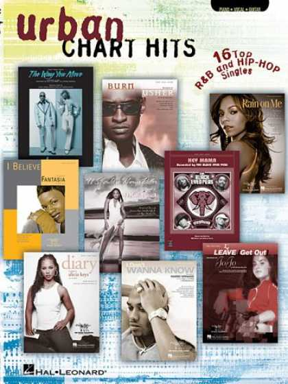Hip Hop Books - Urban Chart Hits: 16 Top RandB and Hip-Hop Singles