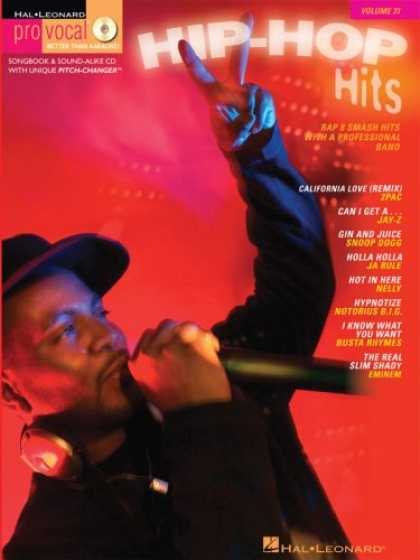 Hip Hop Books - Hip-Hop Hits Vol.31 BK/CD (Pro Vocal)
