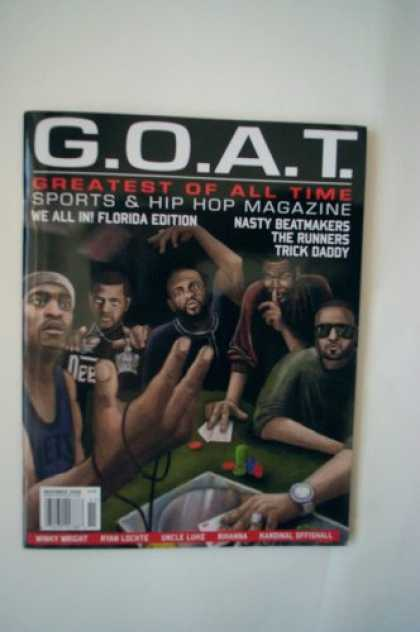 Hip Hop Books - G.O.A.T. Sports & Hip Hop Magazine November 2008