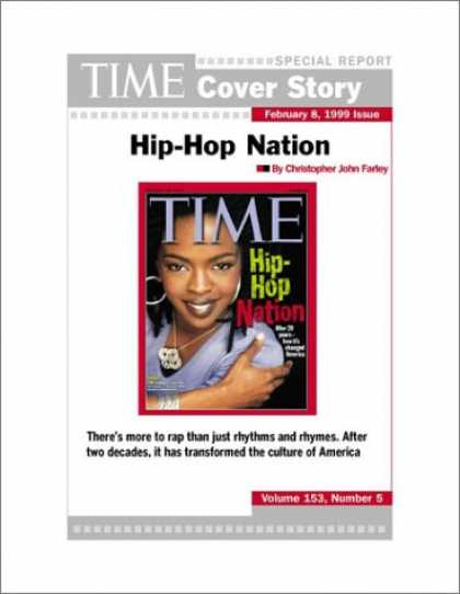Hip Hop Books - Hip-Hop Nation : TIME Magazine Cover Story