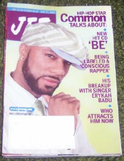 Hip Hop Books - Jet Magazine June 27, 2005 Hip-hop Star Common, Michael Jackson Not Guilty