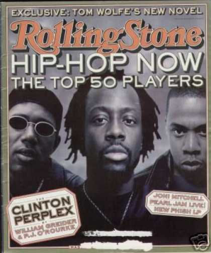 Hip Hop Books - HIP HOP PLAYERS issue of ROLLING STONE MAGAZINE # 798--OCTOBER 29TH, 1998