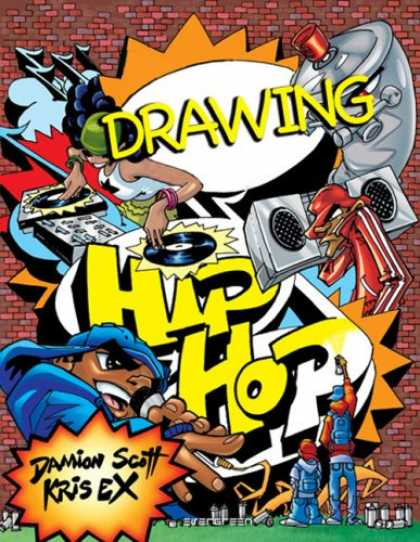Hip Hop Books - Drawing - Hip Hop