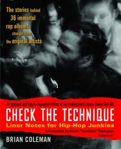 Hip Hop Books - Check the Technique: Liner Notes for Hip-Hop Junkies
