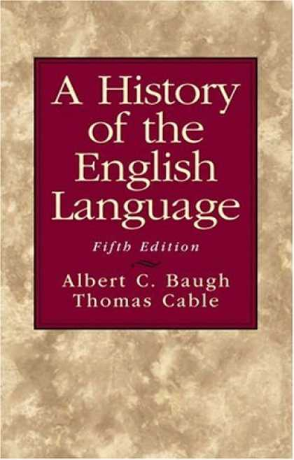History Books - History of the English Language, A (5th Edition)