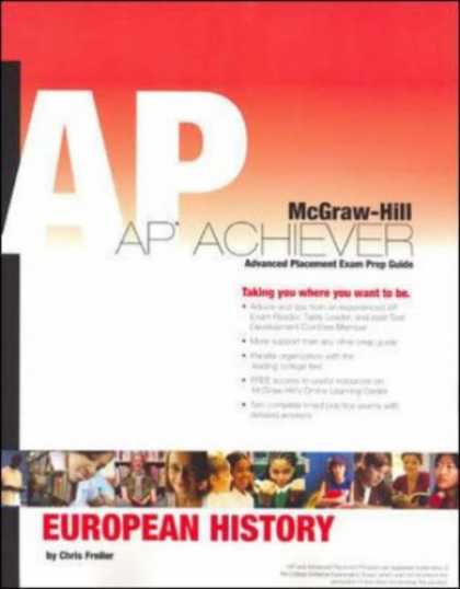 History Books - AP Achiever (Advanced Placement* Exam Preparation Guide) for European History (C
