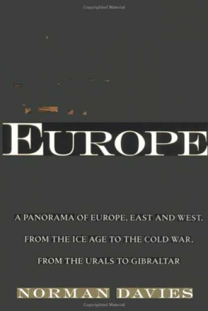 History Books - Europe: A History