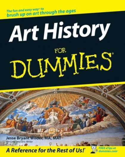 History Books - Art History For Dummies (For Dummies (Lifestyles Paperback))