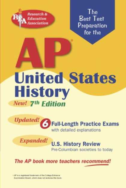 History Books - AP United States History (REA) - The Best Test Prep for the AP Exam: 7th Edition