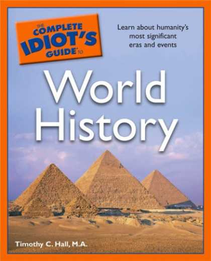 History Books - The Complete Idiot's Guide to World History